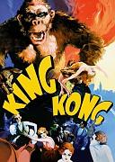 Кинг Конг (King Kong, 1933) — смотреть онлайн бесплатно видео и всю информацию об этом фильме ужасов