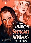 Свенгали (Svengali, 1931) — смотреть онлайн бесплатно видео и всю информацию об этом фильме ужасов