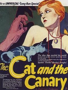 Кот и канарейка (1927)