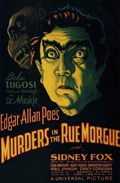 Убийства на улице Морг (1932)