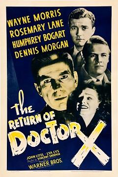 Возвращение доктора Икс (1939)