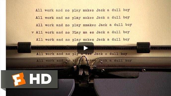 Сияние (1980) — венди узнает, над чем «работал» многие месяцы Джек — смотреть онлайн