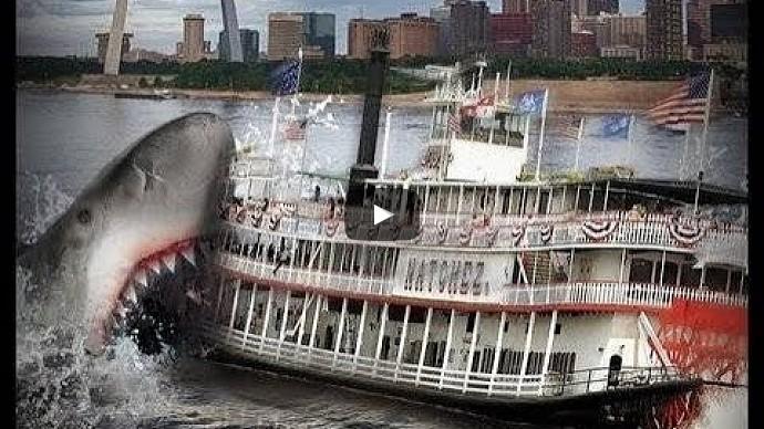 Акулы в Миссисипи (2017) — все убийства людей акулами за минуту — смотреть онлайн
